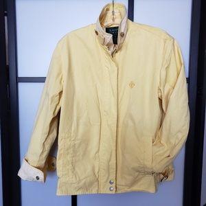 Lauren Ralph Lauren soft yellow jacket